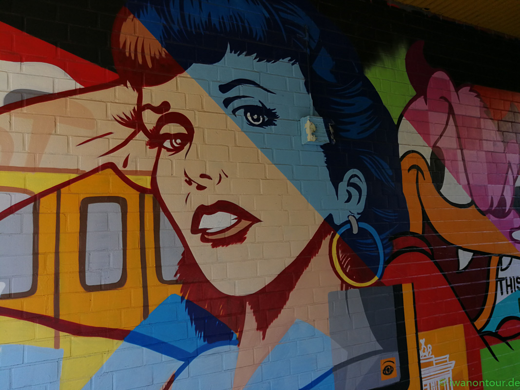 StreetArt und Murals