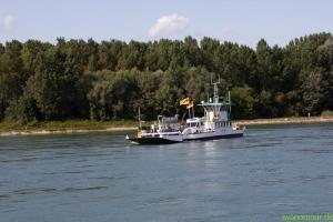 Fähre bei Rheinstetten