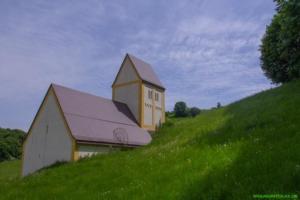 Kunst am Bau:Versunkenes Dorf