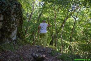 Wanderweg am Lochenpass
