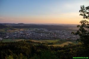 Sonnenuntergang am Dreifaltigkeitsberg