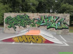 Skaterpark in Treuenbrienzen