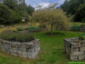 Im Kräuterpark Altenau