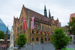Das Rathaus von Ulm