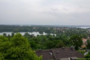 Blick vom Parnaß Turm