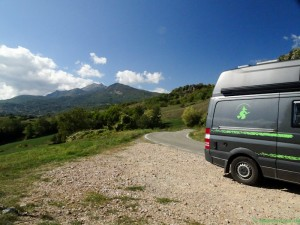 Weg nach Parma