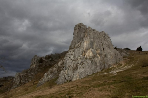 Kletterfelsen im Eselsburger Tal