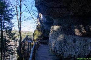 Weg zur Teufelsbrücke