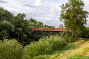 Brücke auf die Ketscherinsel