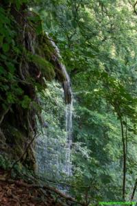 Der Brühlbach wird zum Wasserfall