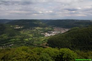 Ausblick vom Schönbergturm