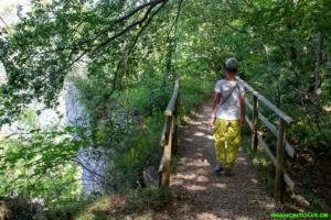 Wanderweg beim Locherstein