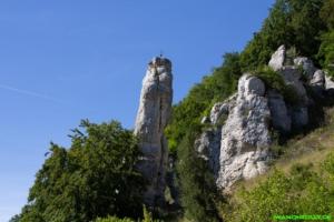 Spitzer Stein im Großen Lautertal