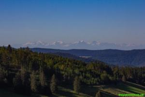 Mit Alpenblick