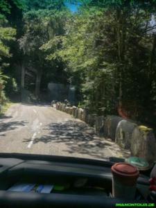 Die Straße entlang der Alb