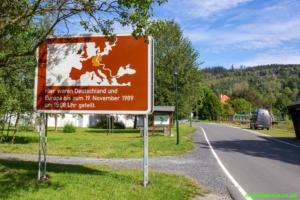 Ehemalige Grenze bei Heinersdorf
