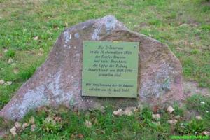 Gedenkstätte Stresow