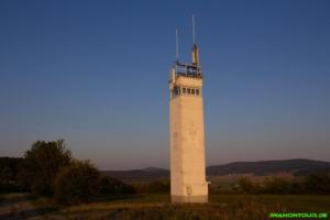 Grenzturm beim Point Alpha