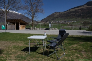 Glurns: Camping im Park